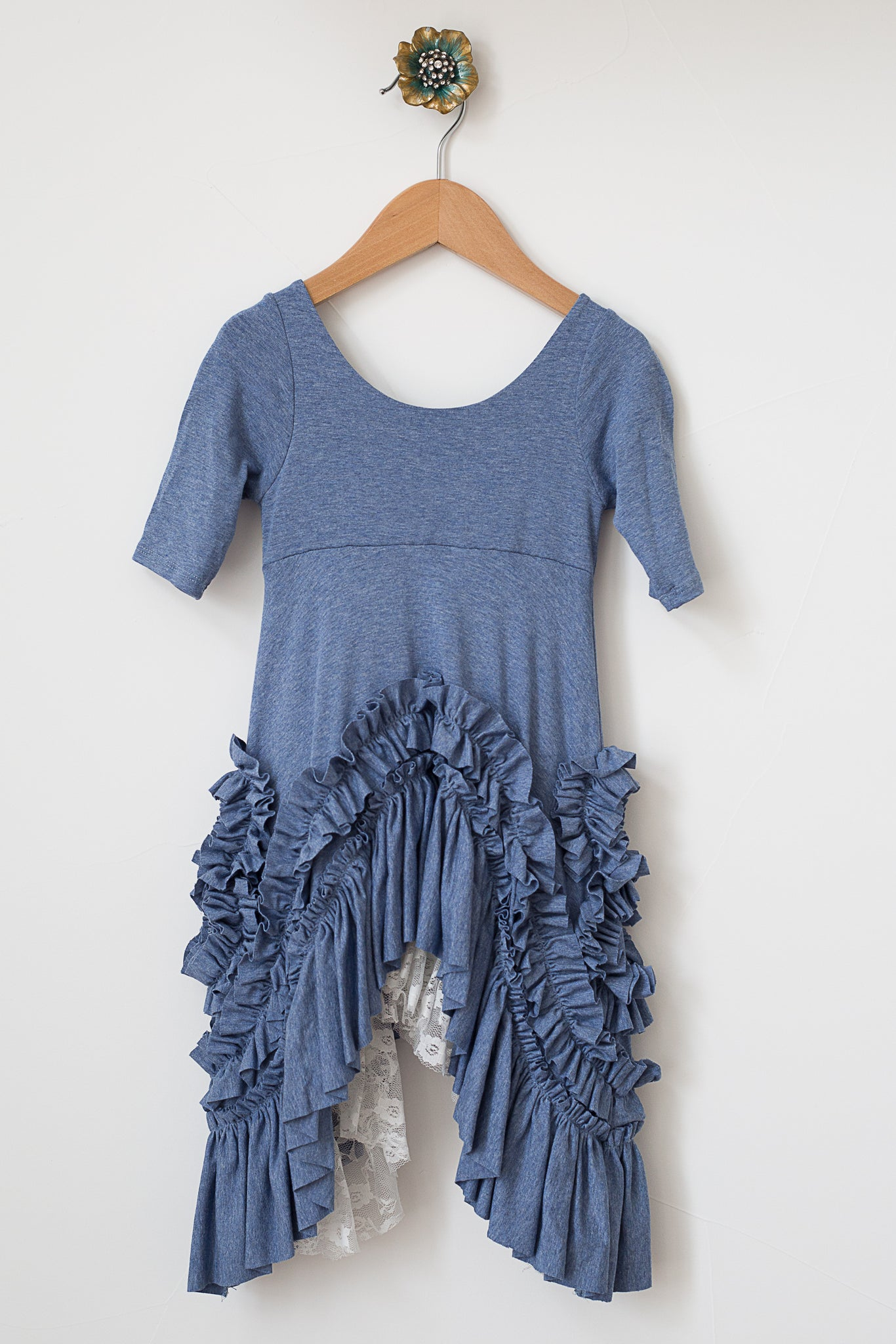 Prairie Dress Chambray