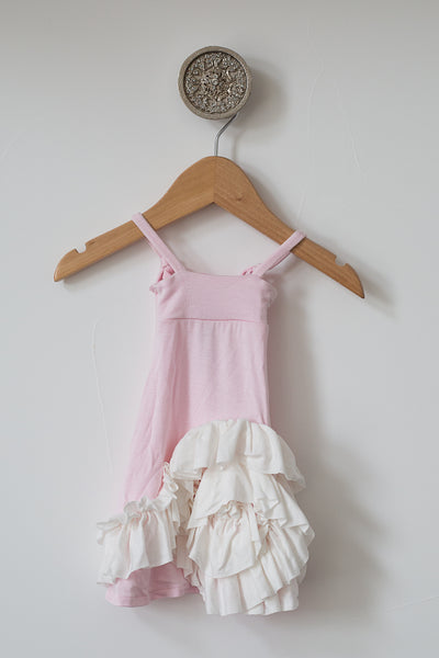 Maxi Doll Dress- Pink/Ivo