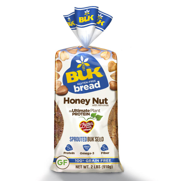 BUK Foods - Honey Nut - Gluten-free Grain free
