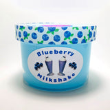 Blueberry Milkshake 8oz