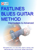 Fastlines Blues Intermediate - Advanced Method - AUDIO INCLUDED IMMEDIATE DOWNLOAD