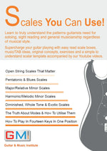 IS THIS THE ULTIMATE GUITAR SCALE BOOK? YOU DECIDE! - GMI - Guitar and Music Institute Online Shop