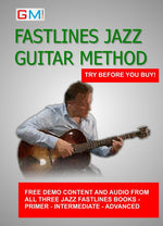 JAZZ GUITAR SOLO DEMO PACK - FASTLINES - GMI - Guitar and Music Institute Online Shop