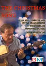 The Christmas Song Jazz Guitar Arrangement - GMI - Guitar and Music Institute Online Shop