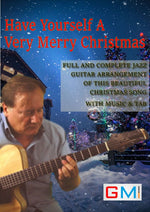 Have Yourself A Merry Little Christmas - GMI - Guitar and Music Institute Online Shop