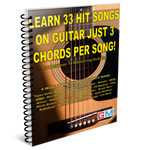 Learn 33 Hit Songs On Guitar Just 3 Chords Per Song!