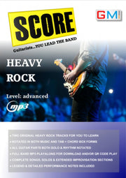 "Heavy Rock Play Along ""SCORE - You Lead The Band!"" - GMI - Guitar and Music Institute Online Shop"