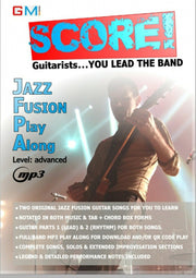 "Jazz Fusion Play Along ""SCORE - You Lead The Band!"" - GMI - Guitar and Music Institute Online Shop"