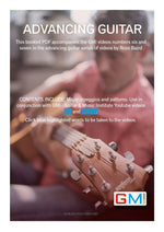 ADVANCING GUITAR COURSE SUPPORTING PDF BOOK BY ROSS BAIRD