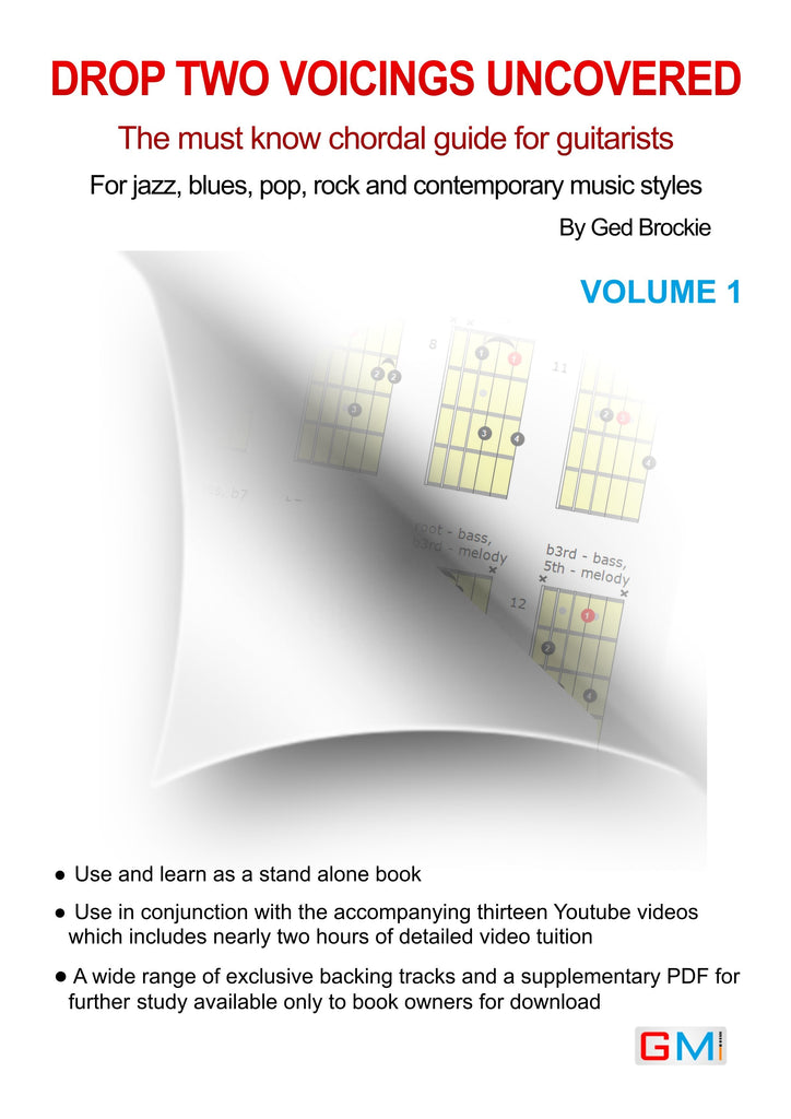 DROP TWO VOICINGS UNCOVERED - PDF DOWNLOAD - GMI - Guitar and Music Institute Online Shop