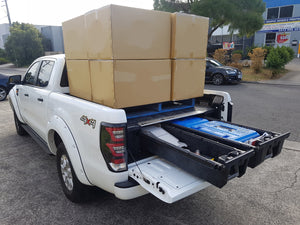 Now your pickup truck can also carry a pallet!