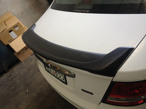FORD FG FALCON DJR REAR BOBTAIL SPOILER WITH with LED -  PAINTED ANY COLOUR