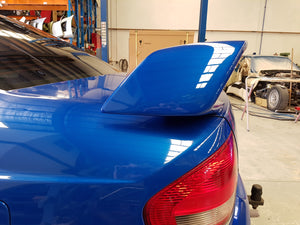 FORD FALCON BA BF GT REAR SPOILER 2003-2008 WITH LED PAINTED