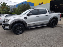 FORD RANGER PX2 2015on FENDER FLARES WHEEL ARCH PAINTED TO ANY COLOUR