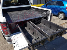 FORD RANGER DUAL CAB 2012on DECKED TRUCK BED STORAGE SYSTEM DRAWS
