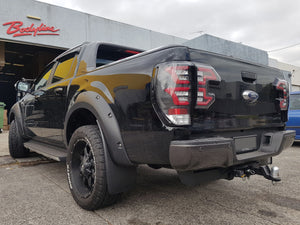 FORD RANGER PX PX2 2012on LED PERFORMANCE TAIL LIGHTS with SEQUENTIAL INDICATORS