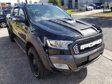 FORD RANGER PX2 2015on SPORTS BONNET SCOOP - STYLE2 CHROME BOLTS 3mm THICK