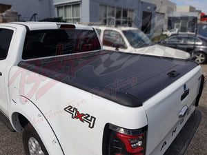 FORD RANGER WILDTRAK DUAL CAB 2012on ROLLACOVER ROLLER SHUTTER COVER - LOCKABLE ALUMINIUM
