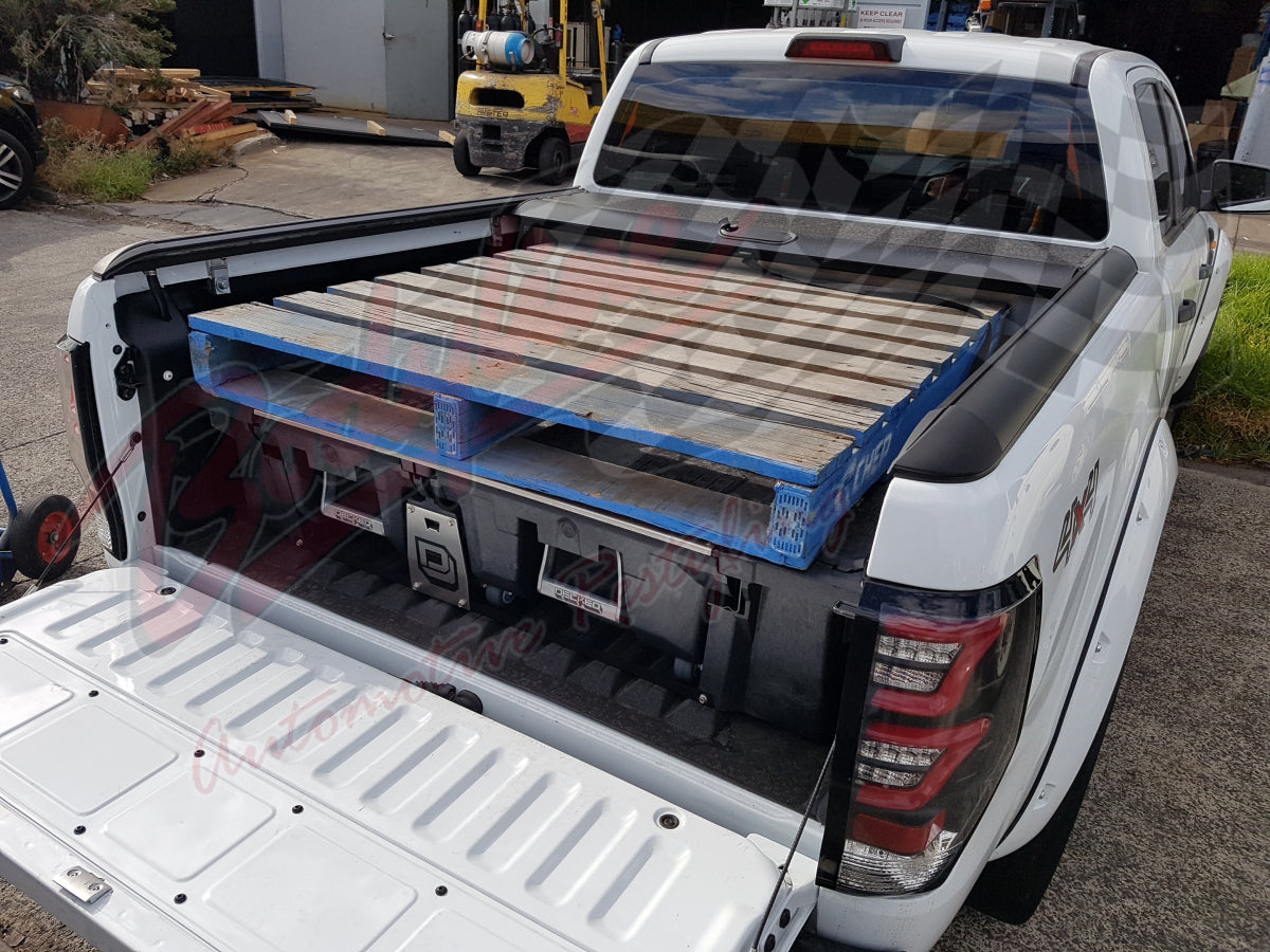 organizer realtruck storage pickup system decked bed truck inside diy drawers
