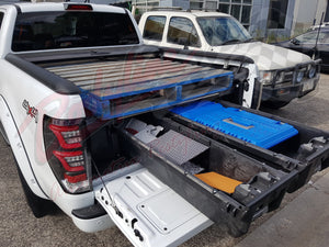 TOYOTA HILUX DUAL CAB 2015on DECKED TRUCK BED STORAGE SYSTEM DRAWS