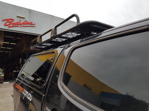 ISUZU D MAX DUAL CAB CANOPY 2012on - LIFT UP WINDOWS