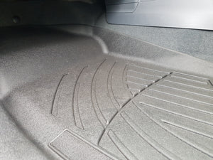 ISUZU D-MAX 2014on 3D LASER CAR MATS FLOORLINERS - ALL WEATHER