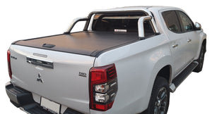 MITSUBISHI TRITON MR MQ DUAL CAB 15+ ROLLER SHUTTER COVER Tonneau suits Factory Sports Bar Secure