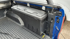 Holden COLORADO 12+ SMART TUB LOCKER - Secure Swing Lift out Case