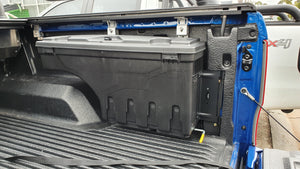 Mercedes X-CLASS 2015+ SMART TUB LOCKER - Secure Swing Lift out Case