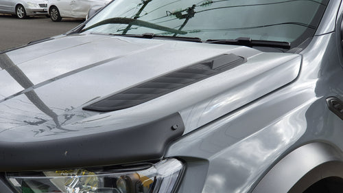 Ford Ranger PX 2015+ AIR DESIGN Hood Vents Set - Satin Black