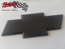 TRIMBITE BLACK CARBON Chevrolet Chevy Bowtie Badge Emblem 3D for HOLDEN stick-on