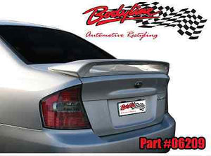 SUBARU LIBERTY SEDAN REAR WING BOOT SPOILER WITH LED 2003-2006 UNPAINTED