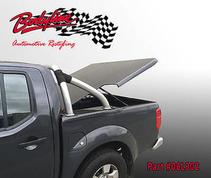 NISSAN NAVARA D40 DUAL CAB 2005-2014 UTE LID - 3 PIECE - SUITS WITH SPORTS BAR