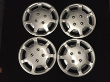 "13"" inch High Gloss Wheel Covers Hub Caps Set of 4 NEW silver universal fit"