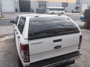 FORD RANGER PX PX2 DUAL CAB CANOPY 2012on - LIFT UP WINDOWS