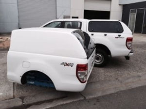 MAZDA BT-50 EXTRA CAB CANOPY 2012on - FLEET NO SIDE WINDOWS