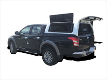 MITSUBISHI TRITON L200 DUAL CAB CANOPY 2015on - LIFT UP WINDOWS