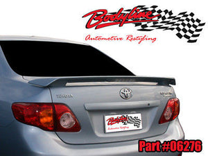 Toyota Corolla Sedan Spoiler 2008 - 2011 PAINTED