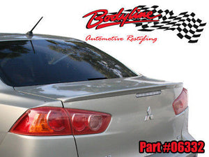 Mitsubishi CJ Lancer Sedan Lip Spoiler 07-11 - PAINTED