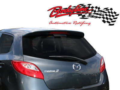 Mazda 2 Hatch Spoiler ABS Plastic 07 -Current UNPAINTED