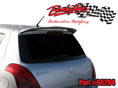 Suzuki Swift Hatch Spoiler 2005 - 2010 UNPAINTED