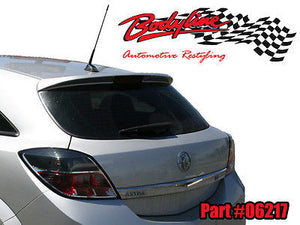 HOLDEN ASTRA AH HATCH REAR SPOILER PAINTED