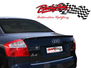 Audi A4 Lip Spoiler ABS Plastic 2001 - 2005 PAINTED