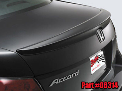 Honda Accord Lip Spoiler 2008 - Current PAINTED