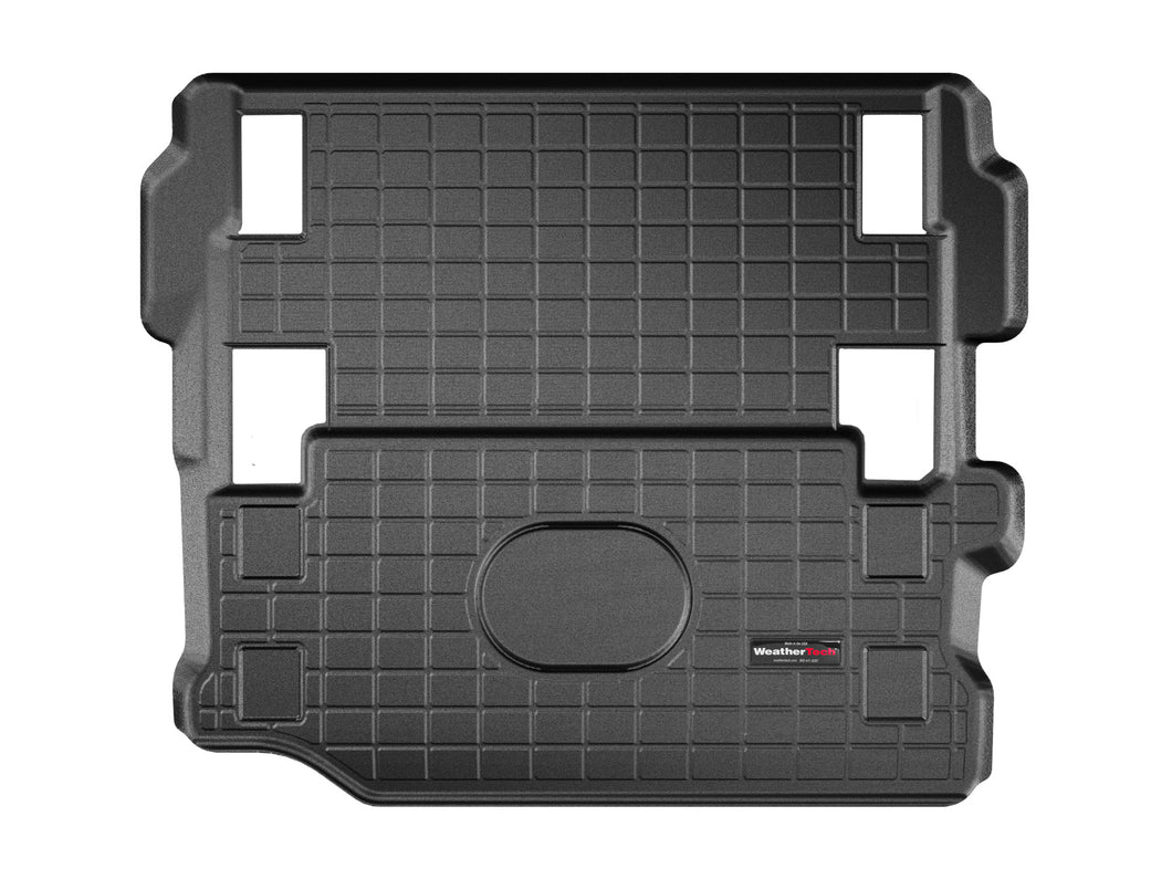 Jeep Wrangler 2018-2019 WeatherTech 3D Boot Liner Mat Carpet Protection CargoLiner