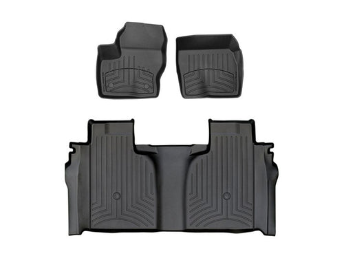 Chev SILVERADO 1500 20+ WeatherTech 3D Floor Mats FloorLiner Carpet Protection