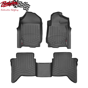 Template WeatherTech 3D Floor Mats FloorLiner Carpet Protection