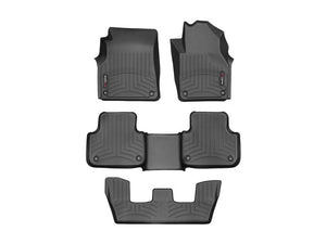 Audi Q7 2015-2020 WeatherTech 3D Floor Mats FloorLiner Carpet Protection