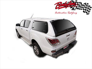 MAZDA BT-50 DUAL CAB CANOPY 2012on - LIFT UP WINDOWS