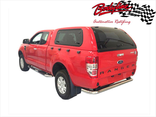 FORD RANGER PX PX2 EXTRA CAB CANOPY 2012on - LIFT UP WINDOWS